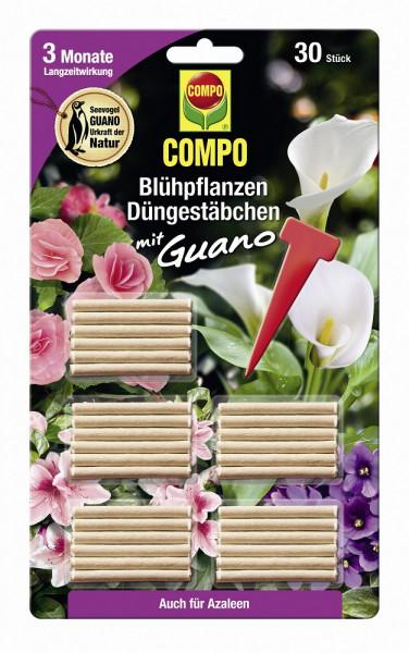 Blühpflanzen Düngestäbchen mit Guano 30 Stk_1651