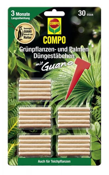 Grünpflanzen- und Palmen Düngestäbchen mit Guano 30 Stk_1657