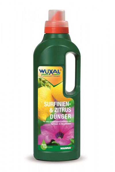 WUXAL Surfinien- und Zitrusdünger 1l Pixl_1027